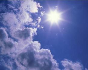 Полуденное солнце