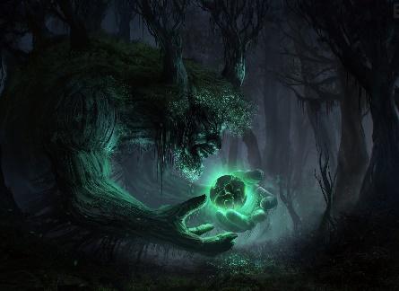 Природные духи