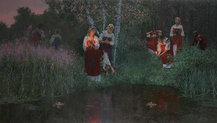 Ночные свечи на Ивана Купала