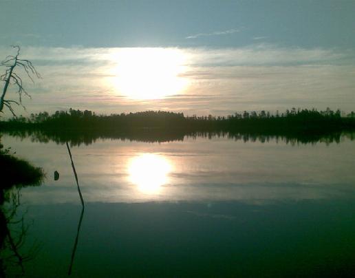 Кимас-озеро в Карелии