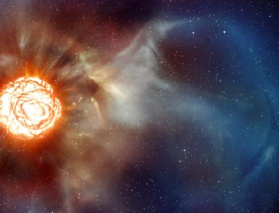 Старк - звезда в космосе