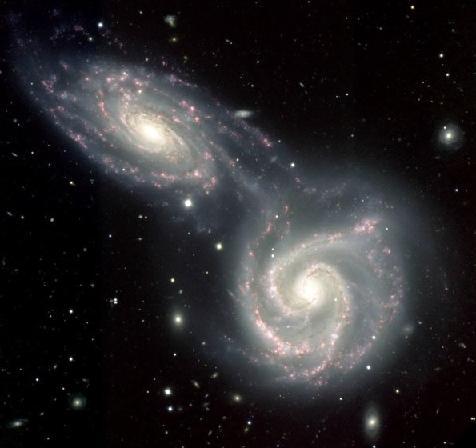 Взаимодействие галактик