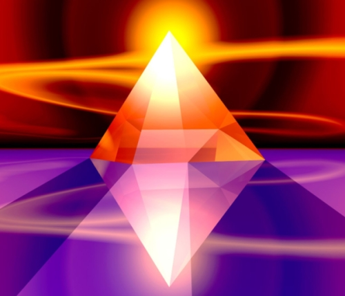 Луч в кристалле