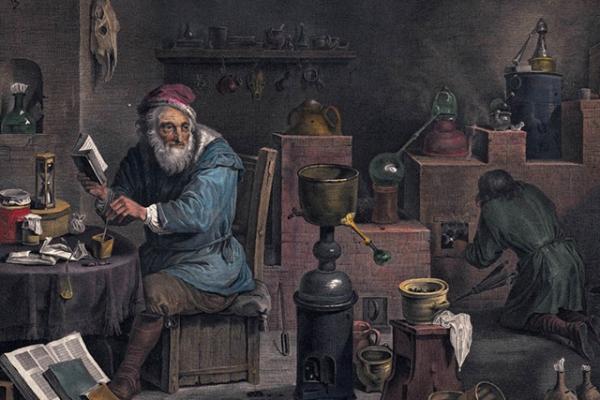 Алхимик создает золото