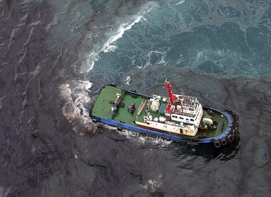 Загрязнение моря нефтью