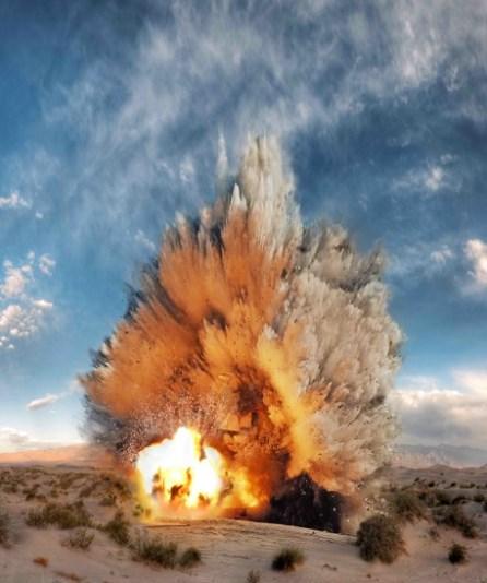 Нитроглицериновый взрыв