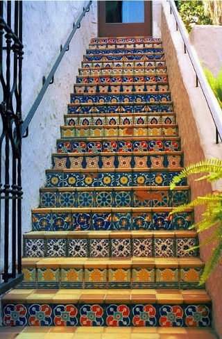 Мозайчная лестница