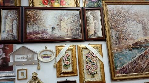 Картины работы мастеров